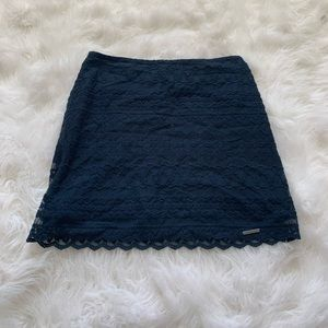 Navy Blue Abercrombie and Fitch skirt